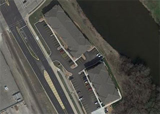 Fox Crossing Apartments Aerial Photo