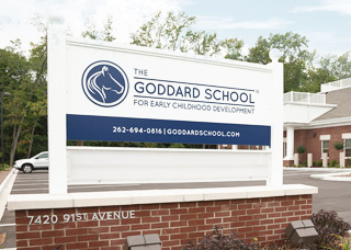 Goddard School Sign