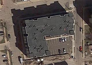5th Avenue Lofts Kenosha Aerial Photo